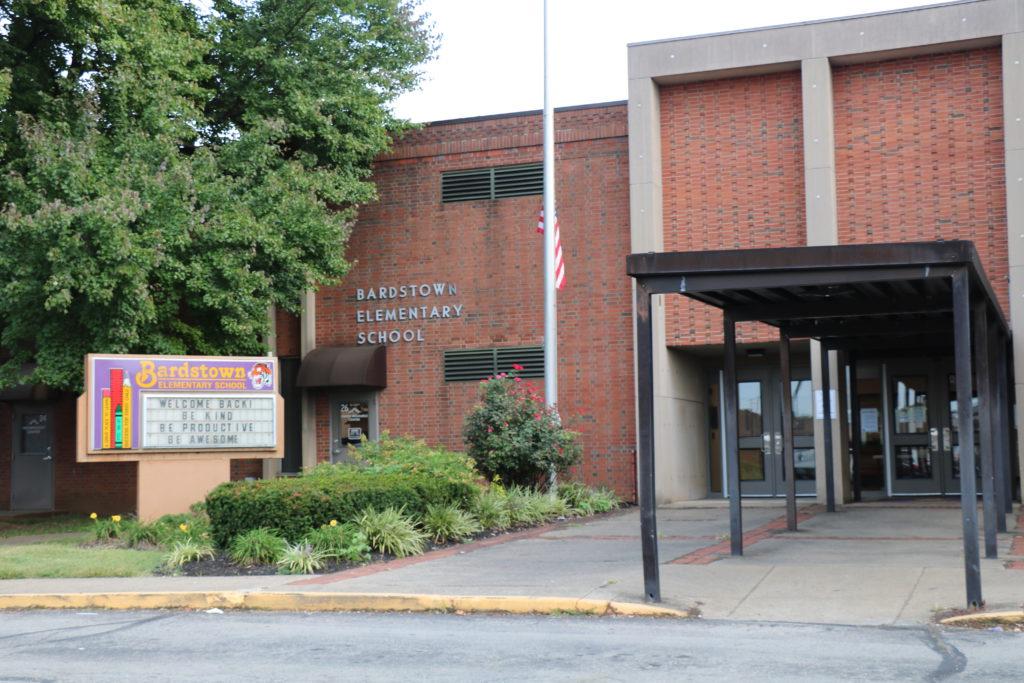 Front of Bardstown Elementary School